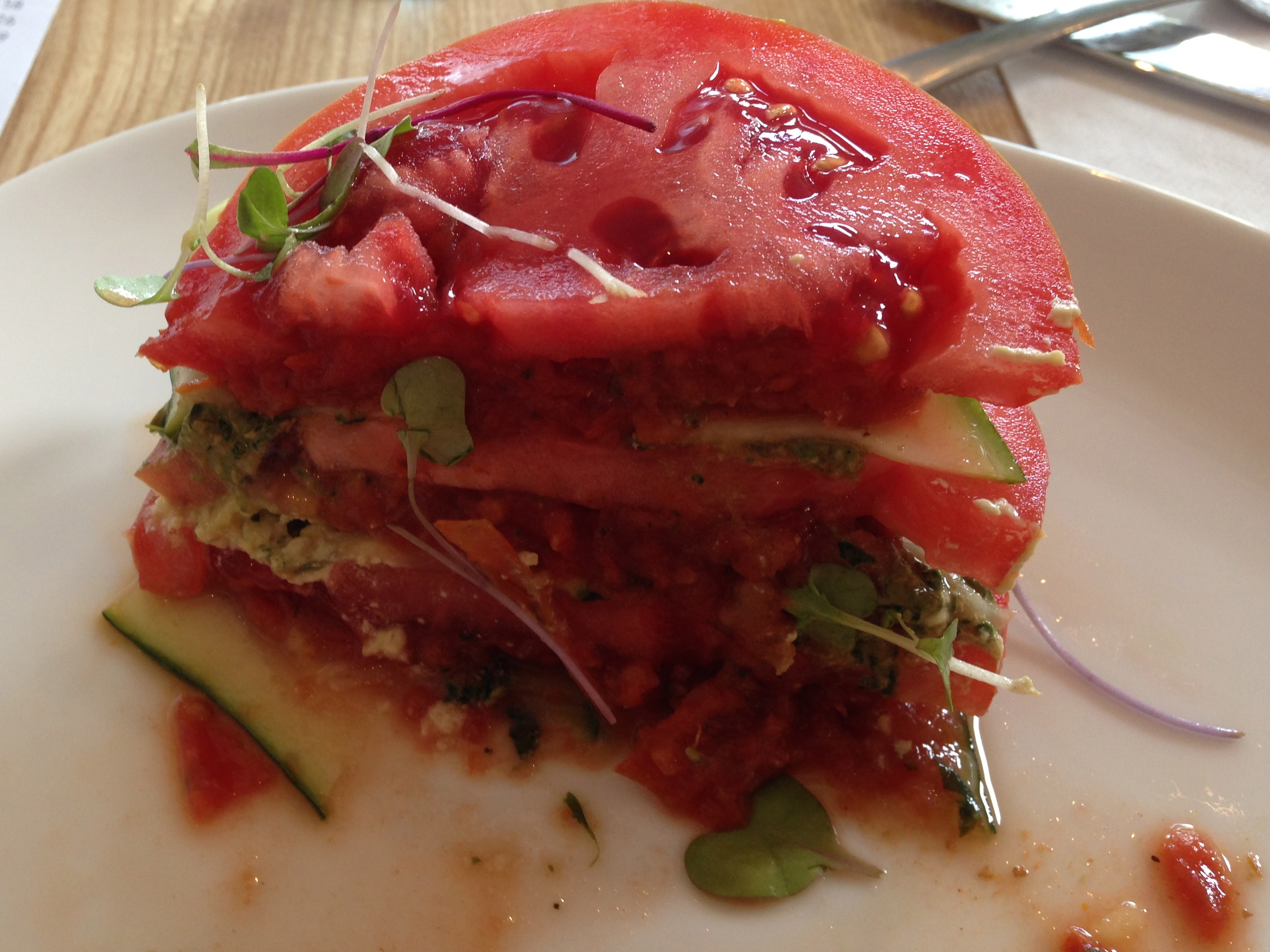 Healthy lifestyle tmihealth west palm beach nutritionist for Fresh tomato lasagna with olive tapenade